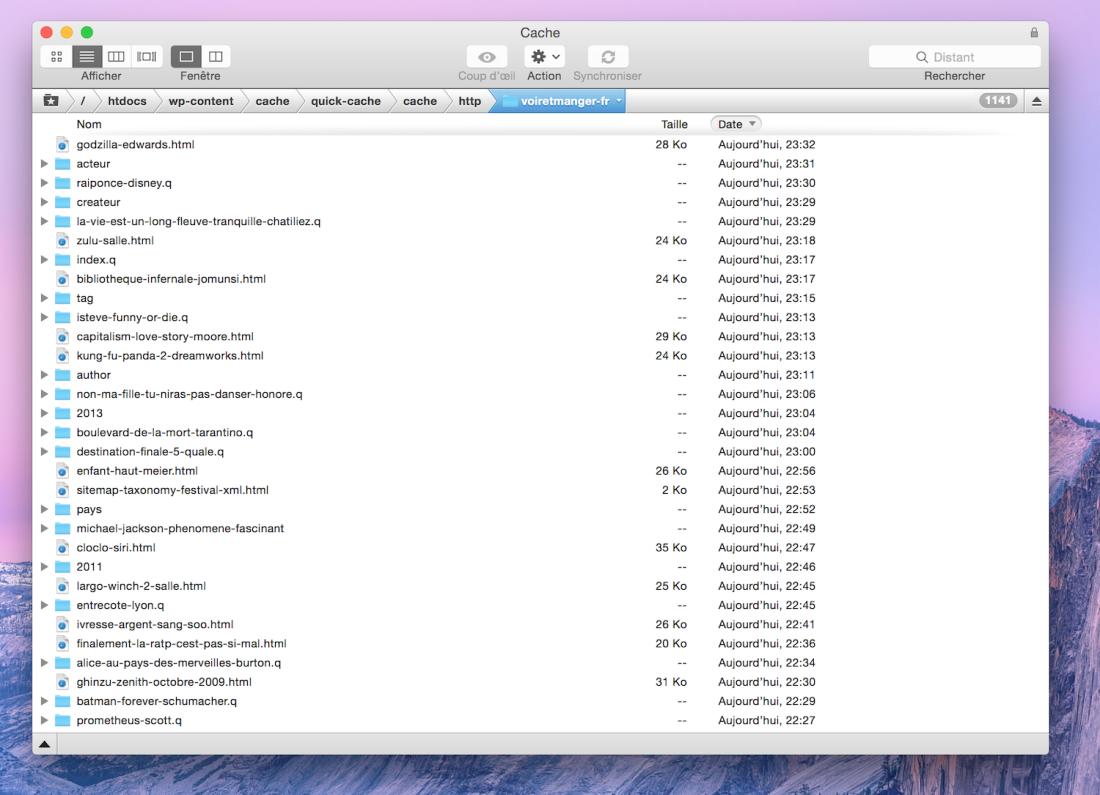 quick-cache-fichiers